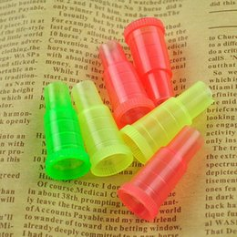 test pipes NZ - Hookah Shisha Test Finger Drip Tip Cap Cover 510 Plastic Disposable Mouthpiece Mouth Tips Healthy for E-Hookah Water Pipe Individual Package