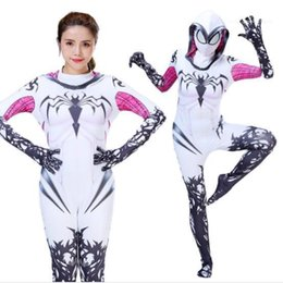 movie stars costumes Australia - Apparel Halloween Cosplay Theme Costume Avengers Fashion Spider Style Movie Start Womens Festival Designer Jumpsuits Casual