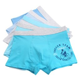 boxer underwear for boys UK - Big size XL-5XL 3Pcs lot Cartoon Boys Underwear Soft Breathable Kids Boxer For 8-16Yrs Baby Panties Kawaii Panty Briefs QS9002