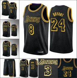 kobe mamba venda por atacado-Homens Mamba Preto Los Angeles