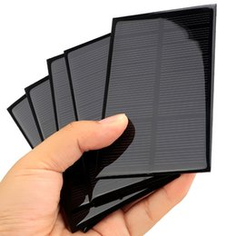 solar panels for toys Canada - Solar Panel 6V 12V Portable Module DIY Small Solar Panel for Cellular Phone Charger Home Light Toy etc Solar Cell