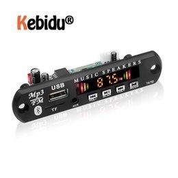 Wholesale & MP4 Players Kebidumei Bluetooth 5.0 MP3 Decoder WMA WAV FLAC APE Board Audio Module USB TF Radio For Car
