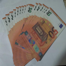 New 10 20 50 100 Euro fake money billet Movie money faux billet euro 20 play Collection and Gifts M11 on Sale