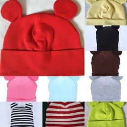 Wholesale cute sweats online – oversize Children s ear hat cute Keep warm soft skin friendly sweat absorbent breathable warm windshield children s ear hat EgCMn