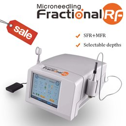 micro needles fractional NZ - Fractional RF Microneedle Stretch Marks micro needle Machine SFR MFR microneedle acne scare wholesale Salon use RF machine