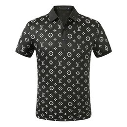 Wholesale breathable polo resale online – Mens Designer Polo T Shirts Men s Polo Summer Polos Shirt Embroidery Polos T Shirts High Street Trend Shirt