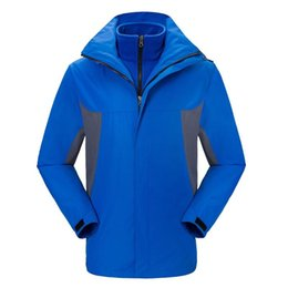 Wholesale male jackets for sale for sale – winter SAGACE men s Windbreakers For Camping Hiking Trekking Climbing Waterproof Outdoor Jackets male Inner liner removable hot sale