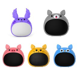 large wholesale speakers Australia - New creative cute pet bluetooth speaker card subwoofer cute mini speaker high quality large capacity free shipping
