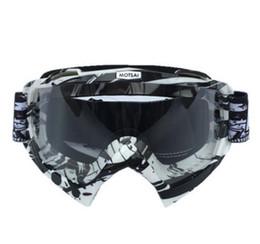 Toptan satış Patlayıcı motokros kask gözlük motosiklet rüzgar aynalar gözlük yokuş aşağı gözlük sürme kayak