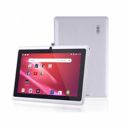 7 inch A33 Quad Core Tablet PC Q8 Allwinner Android 4.4 KitKat Capacitive 1.5GHz 512MB RAM 8GB ROM WIFI Dual Camera Flashlight Q88 MQ5 5w3B# on Sale