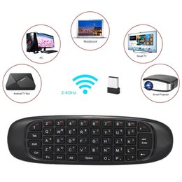 pc air mouse NZ - Russian English Version 2.4g Air Mouse Wireless Keyboard Remote Control 6-axis Motion Sensing For Smart Tv Android Tv Box Pc T190628