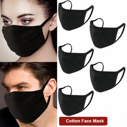 wholesale cotton face mask Australia - Anti-Dust Masks Cotton Mask Mouth Face Mask Unisex Man Woman for Cycling Camping Travel,100% Cotton Washable Reusable Cloth Masks