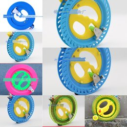 Wholesale easy tires online – design Kite flying wheel cm blue pink plastic crystal Crystal wheel easy to use optional tire line
