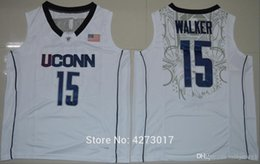 Wholesale white huskies online – ideas Uconn Huskies Kemba Walker Jersey Retro Home White For Men Embroidery Cheap College Basketball Jersey Ncaa
