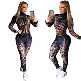 motorcycle jacket sport NZ - Womens jackets tracksuit long sleeve cardigan outfits sportswear two piece set jogger sport suit sweater shirt legging sports suit klw4661