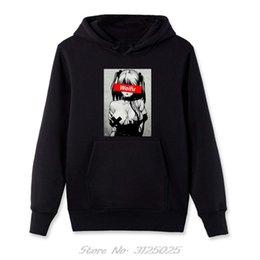Wholesale hentai hoodie online – design Waifu Material Shirt Otaku Lewd Hentai Cute Girl Anime Hoodie Men Streetwear Aesthetic Hoodies Solid Girl Funny Men Sweatshirt