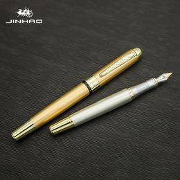 Jinhao250 Перьевые ручки Luxury Ink Pen Долма КАЛЕМ каллиграфические ручки для школы ПН Blanc Gift Pen каллиграфии Mont Blanco на Распродаже