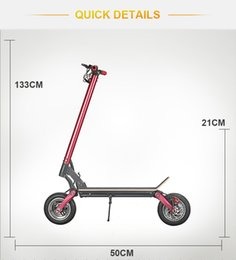 ce Ecorider 10inch 2000w Foldable Portable Electric scooter Skateboard Electric Kick Scooter Range Per Charge 60-80km