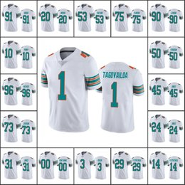 Wholesale blue dolphins online – ideas Miami Dolphins Men Tua Tagovailoa Ryan Fitzpatrick Josh Rosen Fitzpatrick Custom Women Youth NFL Football Jersey