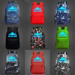 google print NZ - Google Fortnite Fortress Night Luminous Backpack Dont Be Evil Daypack Popular Print Schoolbag Company Leisure Rucksack Sport School Bag O#634