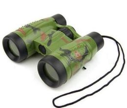 kid telescopes NZ - 2019 Telescopes Binoculars Compass Kids Toys Gifts shape Vivid Green bright Children Toy colors Camouflage Educational Casual