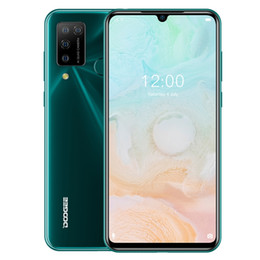 Ingrosso DOOGEE N20 Pro, 6 GB + 128GB Quadruplay quadrupla, Identificazione delle impronte digitali, Batteria da 4400mAh, Schermata Notch Waterdrop da 6.3 pollici Android 10.0