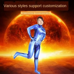 warrior women costumes UK - pXohc igwJR tights Zero Costume Galaxy Tight tights Cosplay role-playing Warrior Pants suit Samus Zero Costume Galaxy Warrior Samus Cosplay r