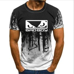 Wholesale bad boy shirts for sale – custom Unisex Print T shirt Summer drop shipping Bad Boy Badboy men t shirts hot brand fashion o neck Camouflage Short Sleeve tshirt