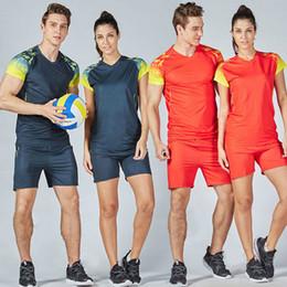 Toptan satış Yeni Marka Erkek Kadın Spor Voleybol Üniformalar Boş Spor Eğitim Suit Koşu Setleri Voleybol Spor Setleri ayarlar