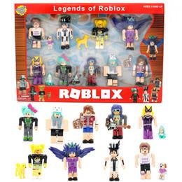 giocattoli del capretto dei giocattoli del blocchetto leggende di roblox Toy Action Figure giocattoli 2020 regalo di vendita caldo del bambino in Offerta
