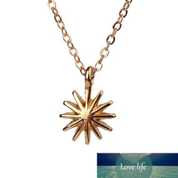 venus jewelry Australia - Dogeared Accomplish Magnificent Things Starburst Venus Pendant Necklace Gold Plated Clavicle Chains Statement Necklace Women Jewelry