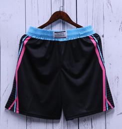 Wholesale side stripe shorts resale online – Basketball Shorts Men Loose Sport Team Short Side Stripe Running Training Football Badminton Short Man Workout Shorts