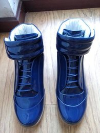 mens blue suede ankle boots NZ - Price Mens France Brand Style Ankle Boots High Top Winter Fall Mans Short Boots Casual Flats Shoes Round Toe Footwear