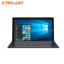 teclast quad core tablet UK - Teclast X4 Tablet 11.6 Inch Intel Celeron N4100 Quad Core 2.4GHz 8G RAM 256G SSD 1920*1080 Windows 10 Tablet With keyboard