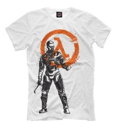 Half-Life T-Shirt - Videospiel-T Dr. Gordon Freeman Drucken Fan Gamer Kleidung