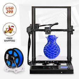 Design 3D Printer 310*310 *400mm Large Printing Size FDM printer and PLA ABS PETG Filament 1.75mm Fast Prototyping Creative Toy Gift.