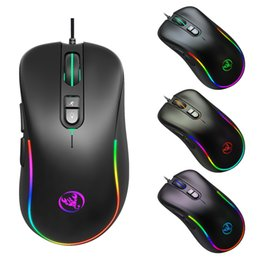 game programming Australia - New J300rgb Macro Programming Game Mouse 7 Keys Can Turn off Lights Support Various Games Wired Mouse Cross-Border Spot