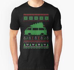 Wholesale ugly christmas shirt online – design Men tshirt T3 Bus Van Bulli Christmas Ugly Sweater XMAS Unisex T Shirt Printed T Shirt tees top