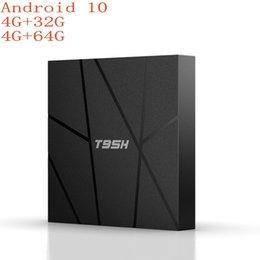 Wholesale T95H Smart Android 10.0 TV Box 4GB RAM 32GB 64GB ROM Allwinnner H6 2.4G wifi 4K HD Set Top Box