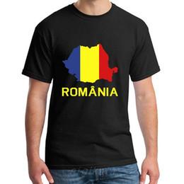 Wholesale romania online – design Fashion Romania Tshirt Men And Women Famous Novelty Kawaii Men And Women Tee T Shirts Round Collar Popular