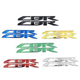 fairing decals Australia - 3D CBR Badge Emblem Decal Sticker Fairing Fuel Gas Tank Fit For Honda CBR All Motorcycle