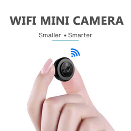 small wireless hd ip camera Australia - Mini Camera Wifi 1080p IP Outdoor Night Vision Android wifi Wireless Small Car Camcorder Motion Detection HD Sport Portable CAM