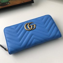 denim canvas coin purse 2020 - High Quality Womens Wallet Purses Handbag Vintage Luxury Womens Clutch Bag Leather Long Wallet Money Coin Pocket Card Ho