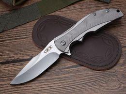 ZT Zero Tolerance 0192 ZT0192 D2 blade TC4 titanium Handle Folding Pocket Knife Xmas Gift Knives on Sale
