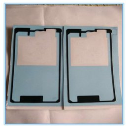 sony xperia z3 battery back cover NZ - Cgjxs Dhl Shipping 500pcs Pre Cut Battery Door Back Cover Adhesive Tape Sticker For Sony Xperia Z Z1 Z2 Z3 Mini Z3 Xl39h L39h L36h C6603 Z4