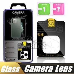 iphone lenses packages NZ - New Arrival Phone Camera Lens Tempered Glass For Iphone 11 Pro Max Transparent Screen Protector Full Cover with Retail Package