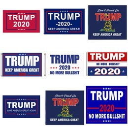 Wholesale word flags online – USA Presidents Election Anner Englis Words Keep America Great Prints United States Donald Trump Flag Decorative Flags Fs E1