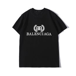 Wholesale crop tee print letter for sale – custom Luxury Mens Designer T Shirt Striped Letter Printing T Shirt Men Women Designer T Shirt Short Sleeve Tees Size S XXL crop top guess