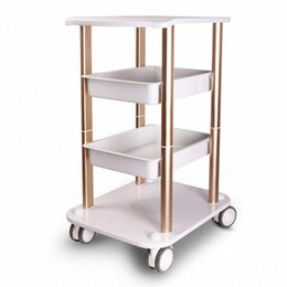 cart frame Australia - Assembled Steel Frame Trolley Cart Stand Tray For HIFU Face Lifting Fractional RF Ultrasonic Cavitation Slimming Salon Spa Use Machine qaTk#