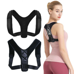 venda por atacado Voltar Posture Corrector cinto ajustável Clavícula Spine Voltar Shoulder lombar Postura correção para adulto Unisex